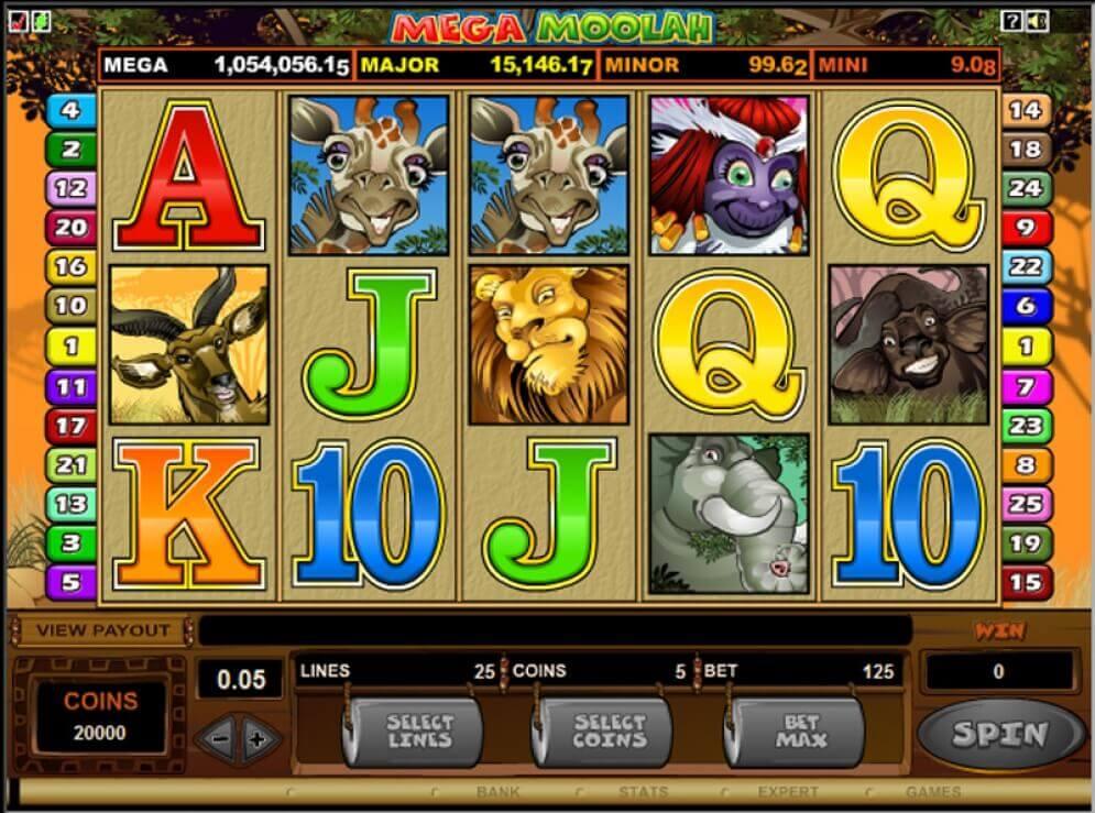 Mega Moolah - Pelaa Bitcoin Casinolla